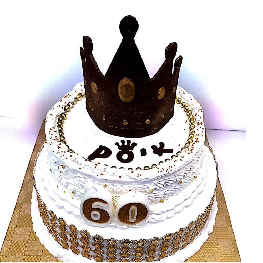 עוגת 2 קומות לאבא המלך