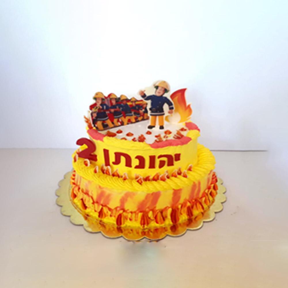 עוגת 2 קומות סמי הכבאי