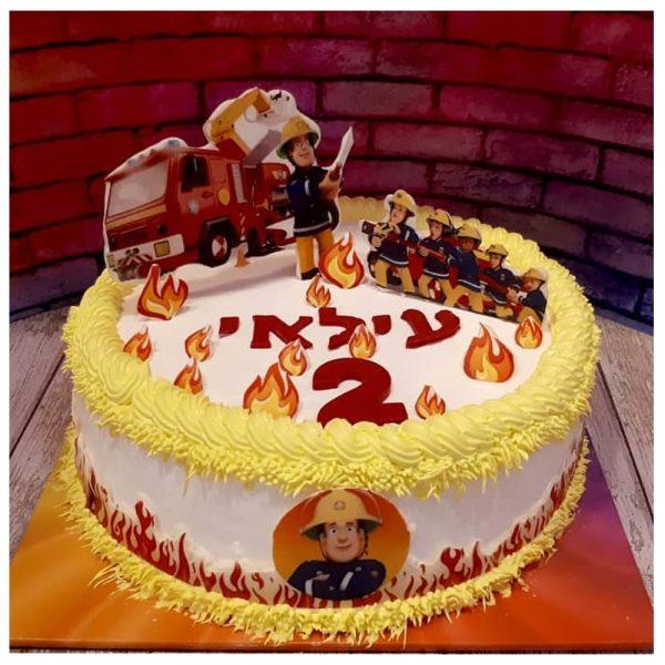 עוגת מעוצבת סמי הכבאי
